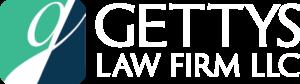 gettys reverse logo